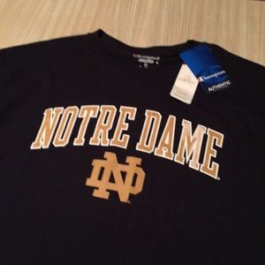 Champion Shirts - NWT Notre Dame Champion tee